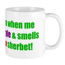 Rainbow Sherbet Mugs