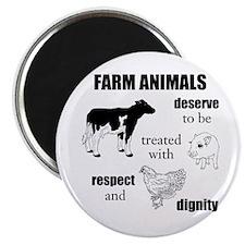 Farm Animals Magnets