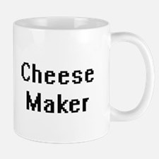 Cheese Maker Retro Digital Job Design Mugs