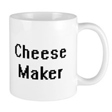 Cheese Maker Retro Digital Job Design Mugs