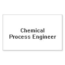 Chemical Process Engineer Retro Digital Jo Decal