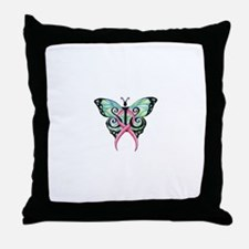 sis clean butterly.jpg Throw Pillow