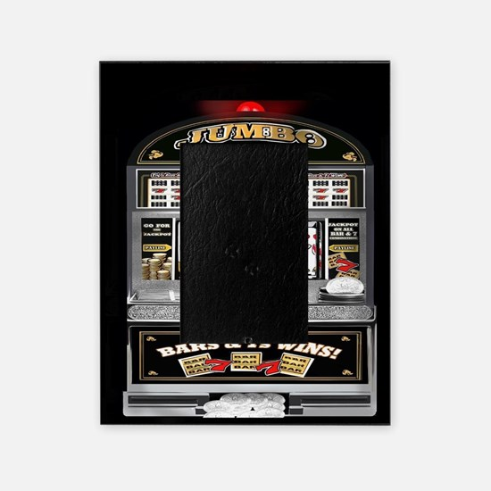 Funny Casino Picture Frame