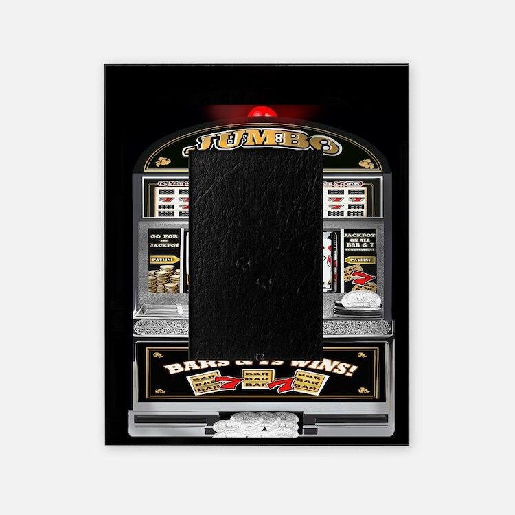 Cute Casino Picture Frame
