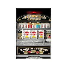 Unique Slot machines Rectangle Magnet
