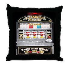 Cute Gambling Throw Pillow