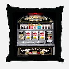 Unique Gambling Throw Pillow