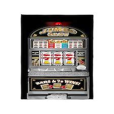 Cute Slot machine Throw Blanket