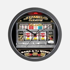 Cute Slot machines Wall Clock