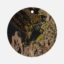 Black Canyon Round Ornament