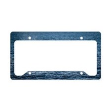 Gray Whale Tail License Plate Holder