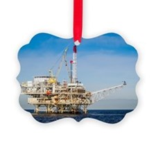 Oil Rig Ornament