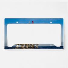 Oil Rig License Plate Holder