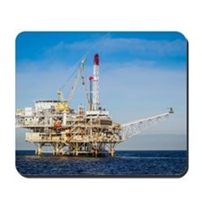 Oil Rig Mousepad