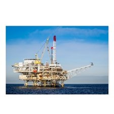 Oil Rig Postcards (Package of 8)