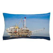 Oil Rig Pillow Case