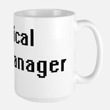 Clinical Data Manager Retro Digital Job Desig Mugs
