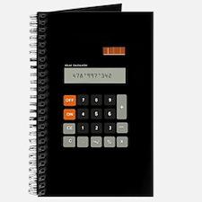 Cute Calculator Journal