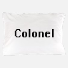Colonel Retro Digital Job Design Pillow Case