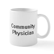 Community Physician Retro Digital Job Design Mugs