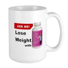 Skinny Fiber Button - Ask Me Mugs