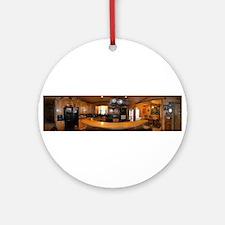 Cabin Kitchen Ornament (Round)