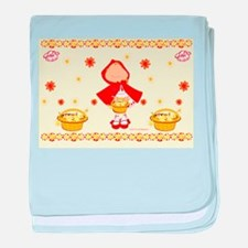 Unique Red riding hood baby blanket