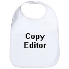 Copy Editor Retro Digital Job Design Bib