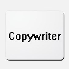 Copywriter Retro Digital Job Design Mousepad