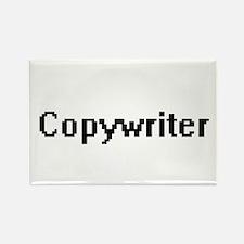 Copywriter Retro Digital Job Design Magnets