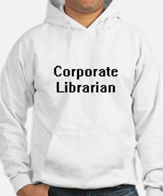 Corporate Librarian Retro Digita Hoodie