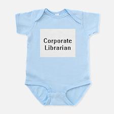 Corporate Librarian Retro Digital Job De Body Suit