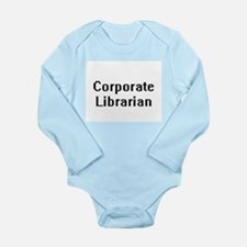 Corporate Librarian Retro Digital Job De Body Suit