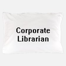 Corporate Librarian Retro Digital Job Pillow Case