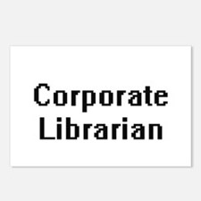 Corporate Librarian Retro Postcards (Package of 8)