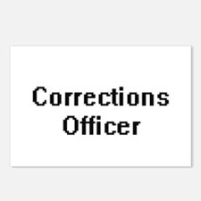 Corrections Officer Retro Postcards (Package of 8)