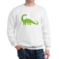 Green brontosaurus Dinosaur Jumper
