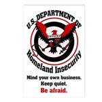 8-pack Homeland Insecurity Postcards