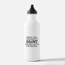 Haunt You Water Bottle