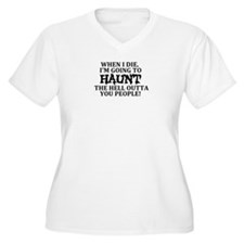 Haunt You Plus Size T-Shirt