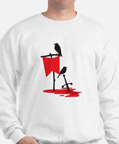 Crows on the battlefield RED Jumper