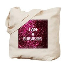 I AM A SURVIVOR Tote Bag