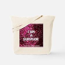 I AM A SURVIVOR Tote Bag