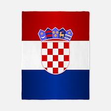 Croatia Flag Twin Duvet