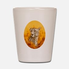 Cheetah ~ Shot Glass
