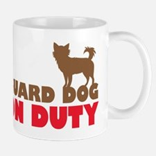 Guard Dog on duty (chihuahua) Mugs