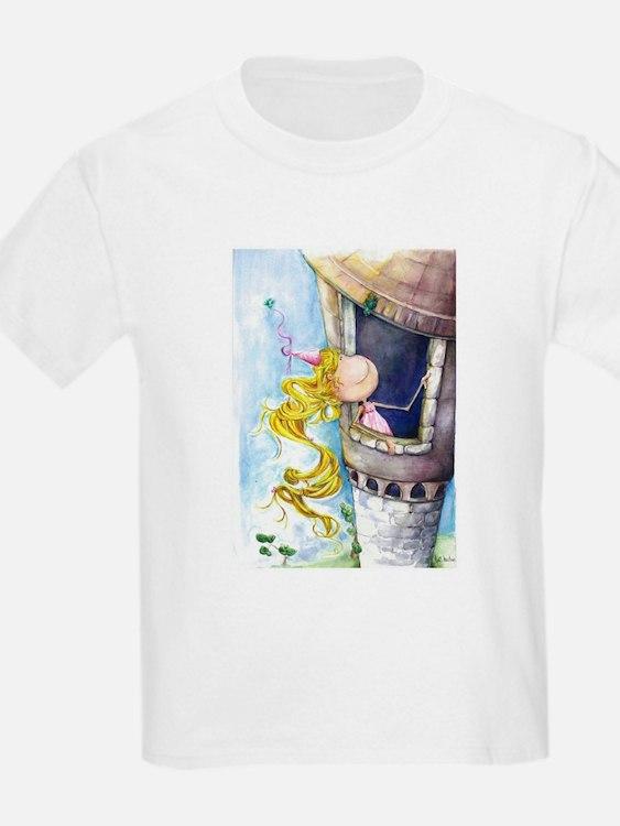 Cute Rapunzel tower T-Shirt
