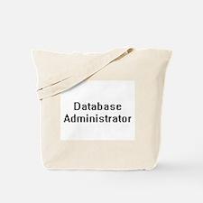 Database Administrator Retro Digital Job Tote Bag