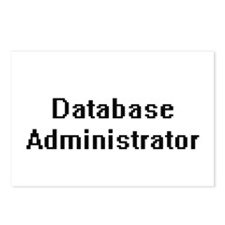 Database Administrator Re Postcards (Package of 8)
