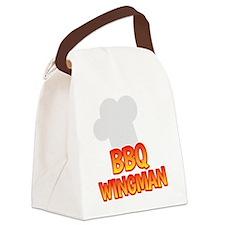 BBQ Wingman Canvas Lunch Bag
